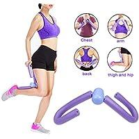 Equipamiento del condensador de ajuste de la pierna Forma de la pierna Entrenamiento Ejercitador delgado Dispositivo de entrenamiento Gimnasia en casa Equipo Caderas Brazos (púrpura)