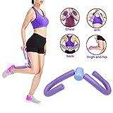 Oberschenkel Toning Trimmer Ausrüstung Bein Form Workout Slim Exerciser Training Gerät Home Gym Ausrüstung Hüften Arms (lila)