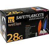 Wellion Lanzetten Safetylancets 28 G 200 stk