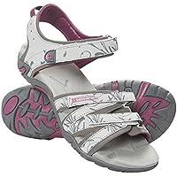Mountain Warehouse Sandalias Santorini para mujer - Zapatos con tiras ajustables para mujer, chanclas con