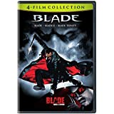 4 Film Favorites: Blade Collection (Blade / Blade II / Blade: Trinity / Blade: House of Chthon) by Wesley Snipes