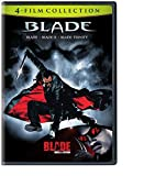 4 Film Favorites: Blade Collection (Blade / Blade II / Blade: Trinity / Blade: House...