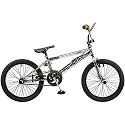 Rooster Big Daddy Spoked Special Edition - Bicicleta BMX, 20pulgadas, chrom
