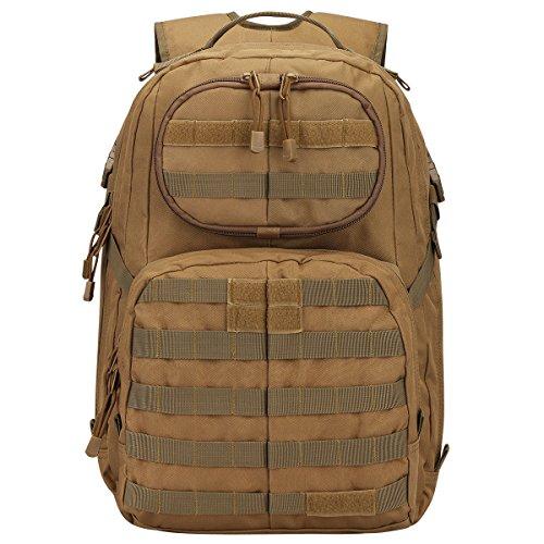 Zaino da combattimento tattico da combattimento tattico di MOLLE Assault Pack Abbronzatura