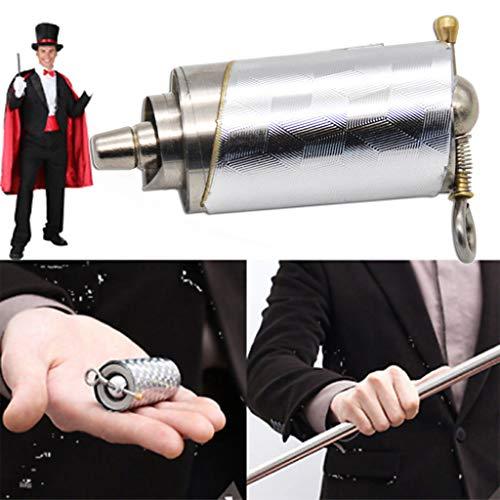 Beanie Für Kostüm Baby Erwachsene - TianranRT Personal Portable Kampfsport Kunst Metall Magie Tasche Bo Staff- Neu Hoch Qualität