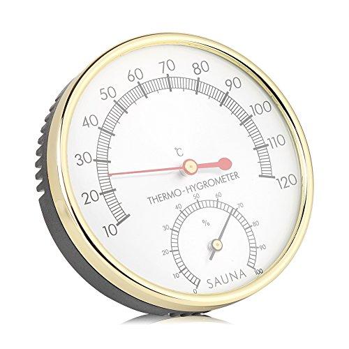 Garosa Igrometro Digitale Termometro Interno Misuratore di umidità Termometro Ambiente Misuratore di umidità di Temperatura accurato per Sala Sauna Serra di casa