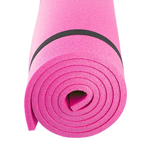 Gregster Outdoor Isomatte in pink, Thermoliegematte mit besten Isoliereigenschaften, 180 x 55 x 1 cm, Iso Matte ideal...