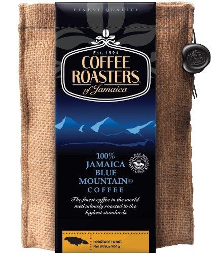 Coffee Roasters of Jamaica - 100% Jamaika Blue Mountain Kaffee-Spezialitäten, ganze Arabica Kaffeebohnen, 1er Pack (1 x 454 g)