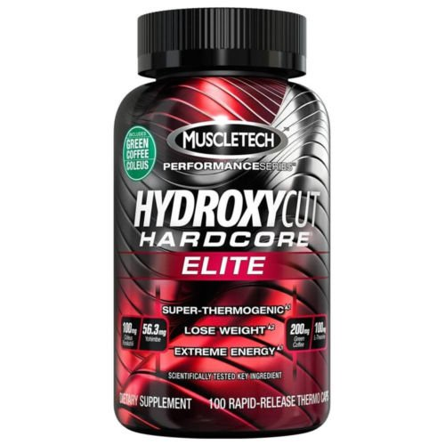 MuscleTech Hydroxycut Hardcore Elite 110 - Capsules 100% Genuine  available at amazon for Rs.1990