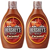 Hershey's Syrup, Caramel, 623g (Pack of 2)