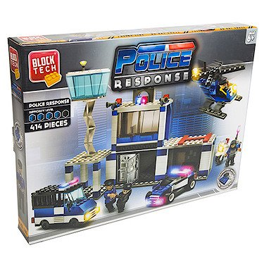 Block Tech – Police Response – Le Poste de Police – Set de construction