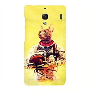 Back cover for Redmi 1S Astronut Cat