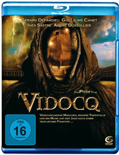 Held Kostüm Maske - Vidocq (Single Edition) [Blu-ray]