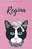 Regina Notizbuch Katze / Malbuch / Tagebuch / Journal / DIN A5 / Geschenk:...
