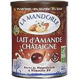 La Mandorle Lait d'Amande Châtaigne 400 g - Lot de 2