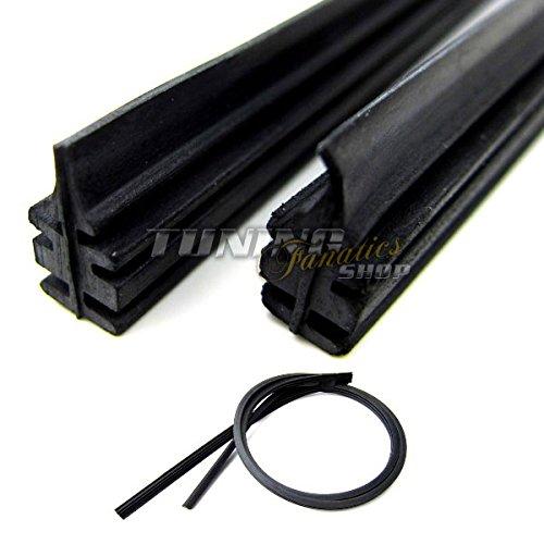 Preisvergleich Produktbild 10 x 700 mm Scheibenwischer Ersatz Gummi für Aero Twin Wischergummis Wischer