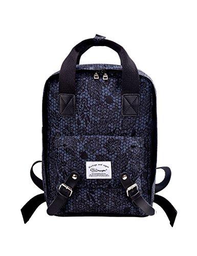 "Douguyan Nylon Backpack Handbag Multi Rucksack Daypack Notebook 14"" Wasserdicht Damen Herren Schule Reisen Sport Rucksäcke School Travel Bag Mens Women Schulrucksack Reiserucksack E00288 Dunkelgrau"