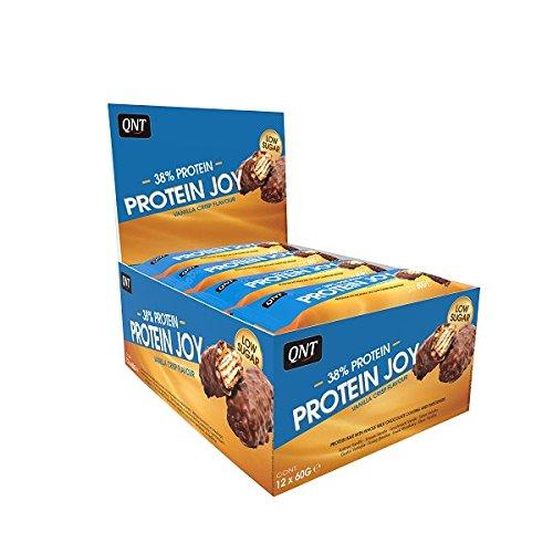 Qnt Protein Joy Bars (12x60g) Cookie & Cream, 720 g