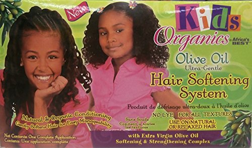 Africa S Best Kids Organics Huile d'Olive Ultra Gentle Hair Softening Système