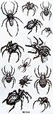 SPESTYLE wasserdicht ungiftig temporäre Tätowierung stickersWaterproof schwarz temporäre Tattoos Tier Spinne