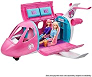 Barbie Dreamplane Transforming Playset with Working Features and 15+ Pieces GDG76