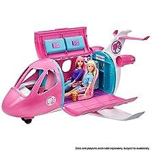 Barbie- Aereo dei sogni, Playset Veicolo e Accessori, Bambola Non Inclusa, Giocattolo per Bambini 3+ Anni, GDG76