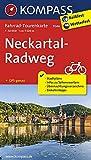 Fahrrad-Tourenkarte Neckartal-Radweg: Fahrrad-Tourenkarte. GPS-genau. 1:50000.: Fietsroutekaart 1:50 000 (KOMPASS-Fahrrad-Tourenkarten, Band 7044) -