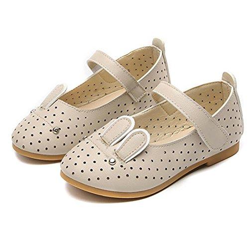 Baby Schuhe Sonnena Baby Mode Sneaker Kind Mädchen Kaninchen Lässig Single Leder Pricness Schuhe Baby Mädchen / Floral / PU / Baumwolle / Gummi / Casual Style (EU:26, Schöne Beige) - Kaninchen-baby-mädchen