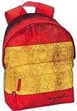 Montichelvo - Mochila con diseño bandera España, 40 x 28 cm (21002)