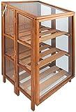 Esschert Design Holz/Glas Gewächshaus–Braun–parent