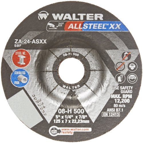 walter-allsteel-xx-exceptional-grinding-wheel-type-27-round-hole-aluminum-oxide-5-diameter-1-4-thick