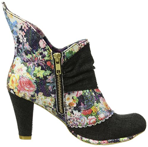 Irregular Choice  Miaow, Escarpins femme Black (Black Multi Floral)