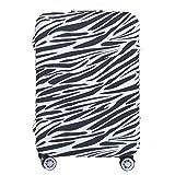 sourcingmap® 22-26 Zoll Zebra Streifen Design Gepäck Koffer Trolley Waschbare Abdeckung