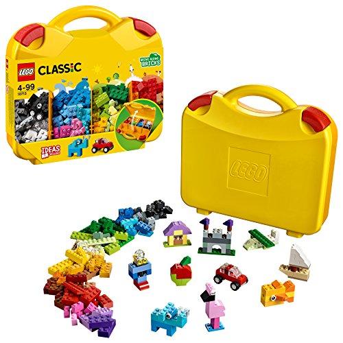 Lego Classic 10713 - Bausteine Starterkoffer, Farben sortieren (4-tier-box)