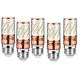 BrightLyts E27 LED Bulb for 5 Chandelier/Wall Lamp/Hanging Lamp/Jhumar or Jhoomar_Set of 5 Pieces