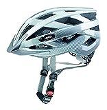 Uvex Fahrradhelm i-vo C, weiß-Silver, 56-60, 4104170817
