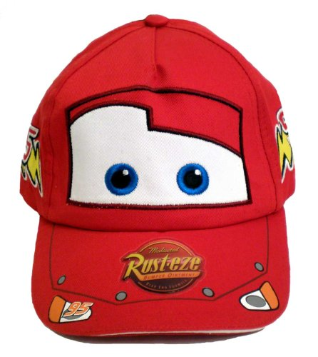 Disneys Pixar Cars Movie Hat ~ The World of Cars Lightning McQueen Childrens Baseball Cap; Great Gift for Kids (Boys Childrens Size)