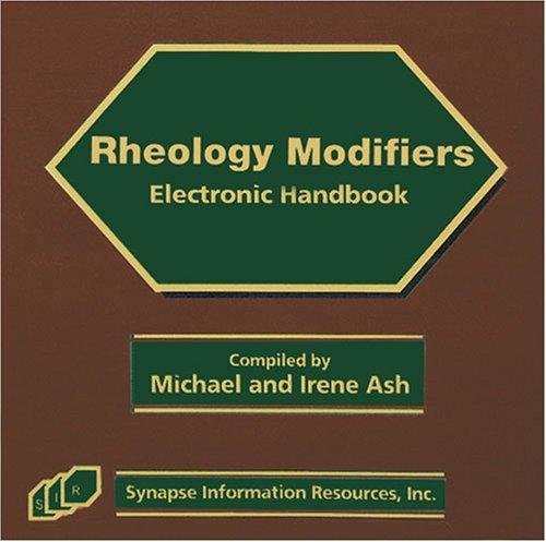 Rheology Modifiers Electronic Handbook Synapse Audio