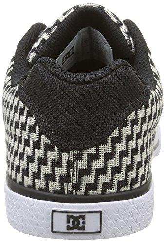DC Shoes Chelsea Tx Se, Sneakers Basses Femme Noir (Bg3)