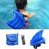 Youyongdashi Haifischflossen-Imitation aufblasbarer Kinderpool Schwimmbecken boje schwimmenden Schwimmkreis, Kinderspielzeug Schwimmkunst