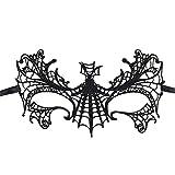 Gespout Halloween Party Durchbrochene Maske Damen Spitze sexy Maske Für Kostüm MaskeradeKarneval Weihnachten Party Dekoration 16 * 24cm (#7)