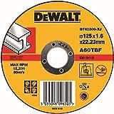 Dewalt DT42300-XJ - Pack de 25 pack de 25 discos abrasivos para cortar metal plano 125x1,6x22,2 mm
