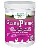 FERME DE BEAUMONT GranuPlume 1 kg - picage et plumage granulés concentrés...