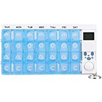 Gowind6 Pillendose, 28 Fächer, wöchentlich, 7 Tage, tragbar, bunt, aus Kunststoff preisvergleich bei billige-tabletten.eu