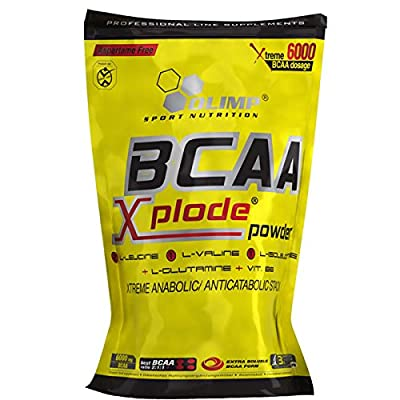 BCAA Xplode Powder Pineapple 1000g Olimp Nutrition, Branched Chain Amino Acids, L-Glutamine, Vitamin B6, Phenylalanine from Olimp Nutrition