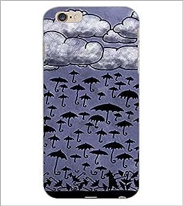 PrintDhaba Umbrellas Design D-3488 Back Case Cover for APPLE IPHONE 6S PLUS (Multi-Coloured)