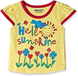 #1: Donuts Baby Girls T-Shirt (267619961_Lime and Green_06M)