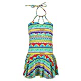 #4: Chinatera Girl's One Pieces Swimsuit Swim Skirts Beachwear Swimsuit