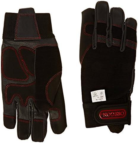 Oregon 295395, Schutzhandschuhe für Kettensäge, 4-Wege-Stretch,