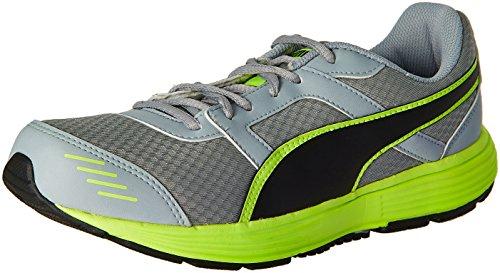 Puma Men's Harbour Fashion Dp Quarry, Puma Black and Safety Yellow Running Shoes - 7 UK/India (40.5 EU)